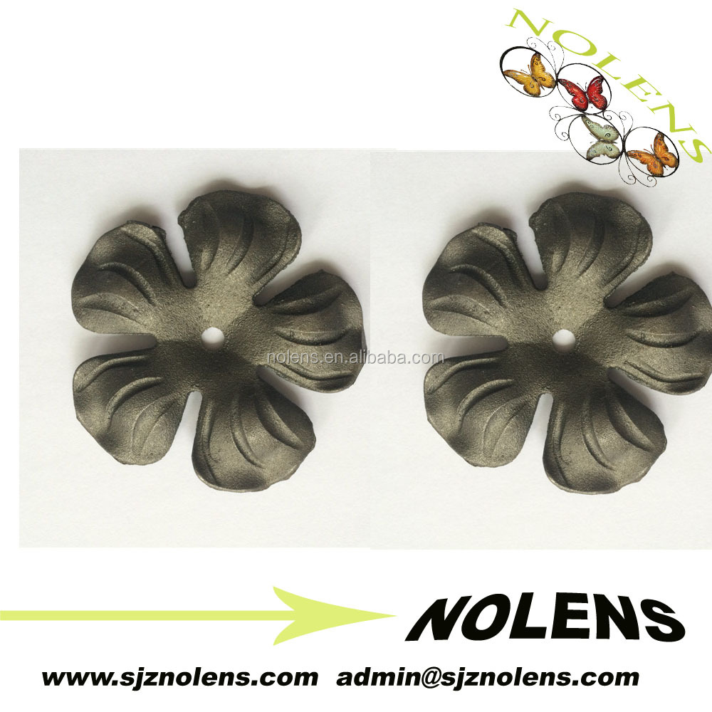 New Product Wrought Iron/ Cast Iron Leaves Wholesale