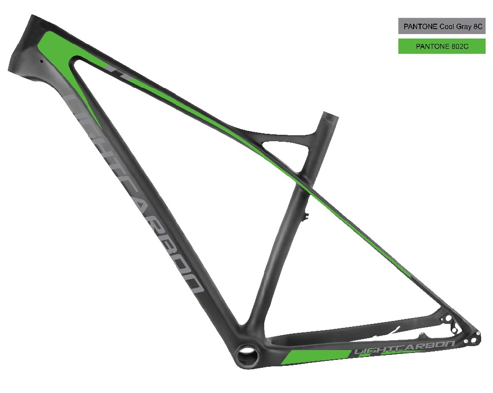 2016 LightCarbon New High End Wholesale carbon bicycle 29er mountain bike carbon hardtail frame LCM903