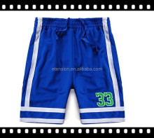 Quick Dry Breathable Rubber Printed Polyester Mesh Shorts