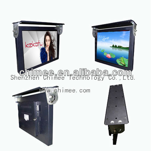19 inch Bus LCD advertising player,support CF/SD/MS/MMS/XD card and USB drive