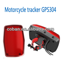 Mountain bike gps tracker GPS304 with tail light design, waterproof, geofence, over long time standby