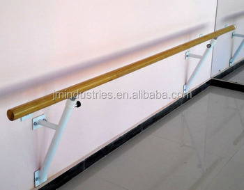 wall mounted gym bar ballet pole