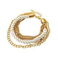 Cheap price dollar store bracelets leather giveaway bracelets