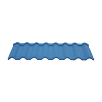 color stone coated aluminium zinc metal steel curved roofing shingle roof tile