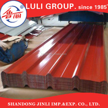 Galvanized iron sheet with price/type of roofing sheets