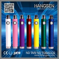 Hangsen big vaporizer e cig/big battery vaporizer passthrough with micro usb (650mah/900mah/1100mah) with OEM Service