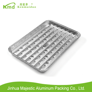 Disposable Aluminium Foil High Quality BBQ grill Tray