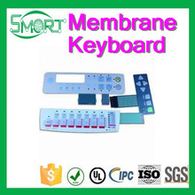 Smart Bes Industrial Control Application membrane keyboard and Custom branded Membrane Switch Keyboard with foil