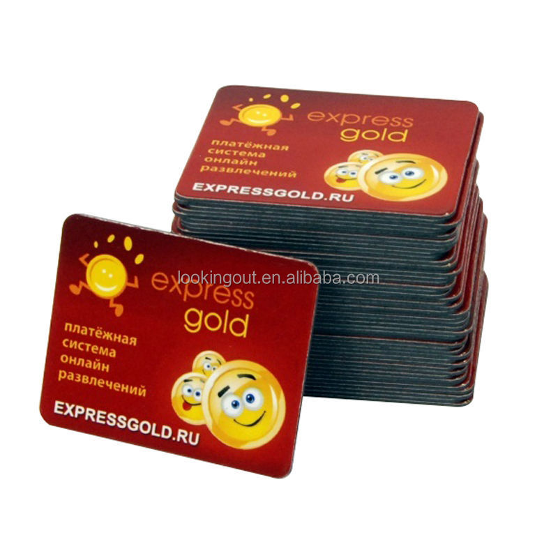 pharmacy stores promo sticker custom magnet printing paper