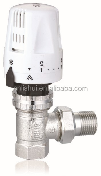 Brass Thermostatic Radiator Valve(Angle)