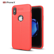 Protective Case For iPhone 8 Plus,Soft Carbon Fiber Cover Thin Case For iPhone 8P