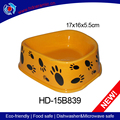 Novelty brightness pet dog feeders and cat food bowl ceramic