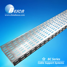 Newest and Hottest Network and Power Cable Tray with Fitting