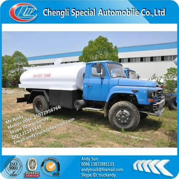 Dongfeng RHD off road water truck,RHD 4x4 water stransportion truck