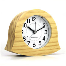 luminous wooden standing kids funny alarm clocks(AC-05A)