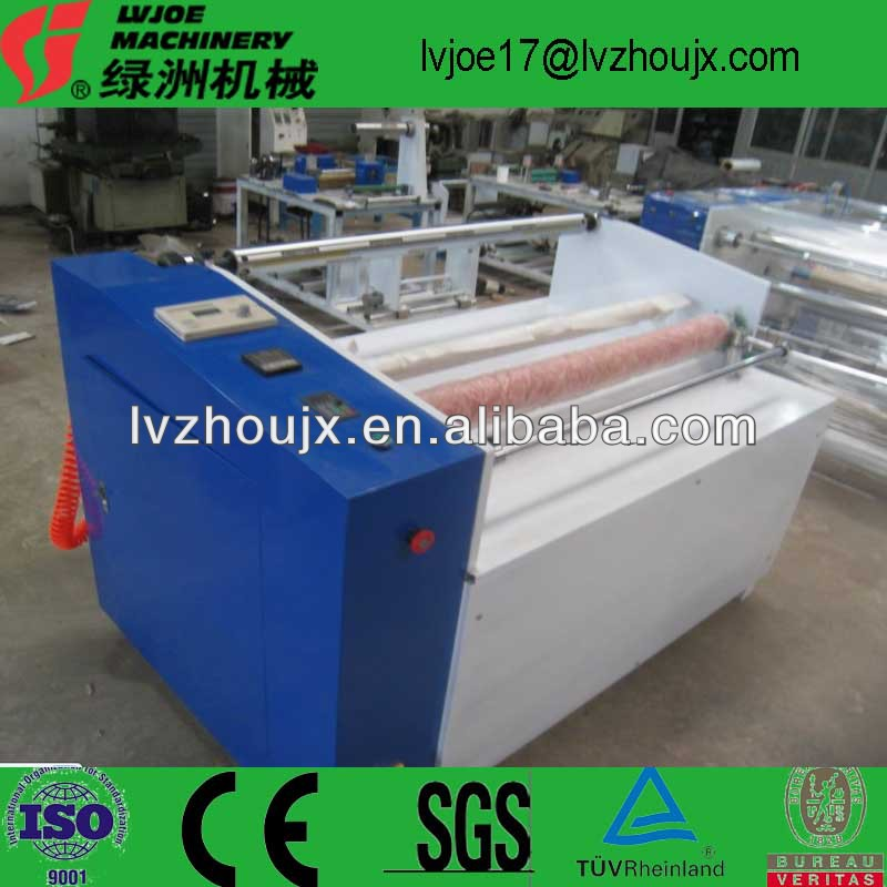 Silicone Laminated Medical Adhesive Tape Slitting Machine / Automatic Medical Tape Cutting Rewinding Machine