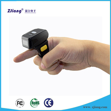 1D / 2D Barcode Scanner Bluetooth Finger Ring Style Mini Bar Code Scanner