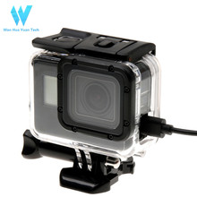 High performance black accessories protective frame for go pro hero5/6