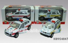 1:32 Pull Back Die-Cast Metal License Police Car With Lights And Ic, Children Toys Alloy Car, Toys For Kid