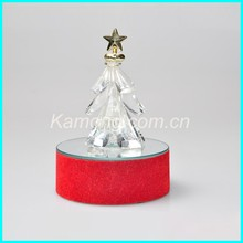 2016 Crystal christmas cone tree light wedding decoration supplies