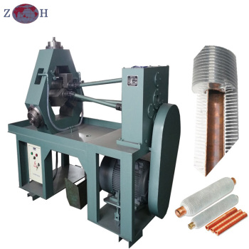 Heat exchanger extruded tube fin machine from Chinese manufacturer