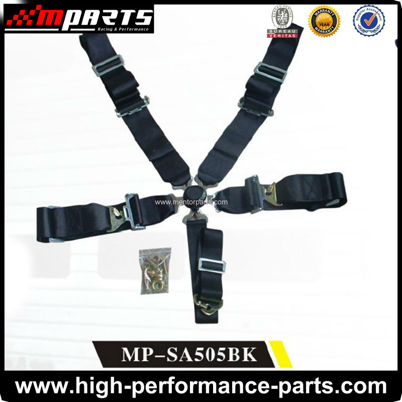5 Point Safety Belt for racing seat with different colors