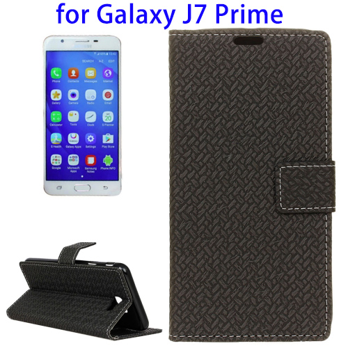 Flip Leather Case Best Quality For Samsung Galaxy J7 Factory Price, Mobile Phone Flip Case for Galaxy J7 Prime Cover