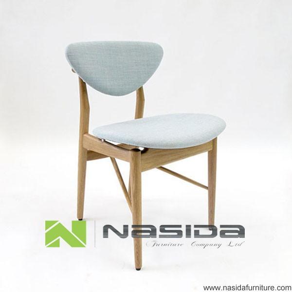 Ch261 replica sillas de madera modernas de hans j wegner del cuero de nasida para el comedor for Modelos de sillas de madera modernas
