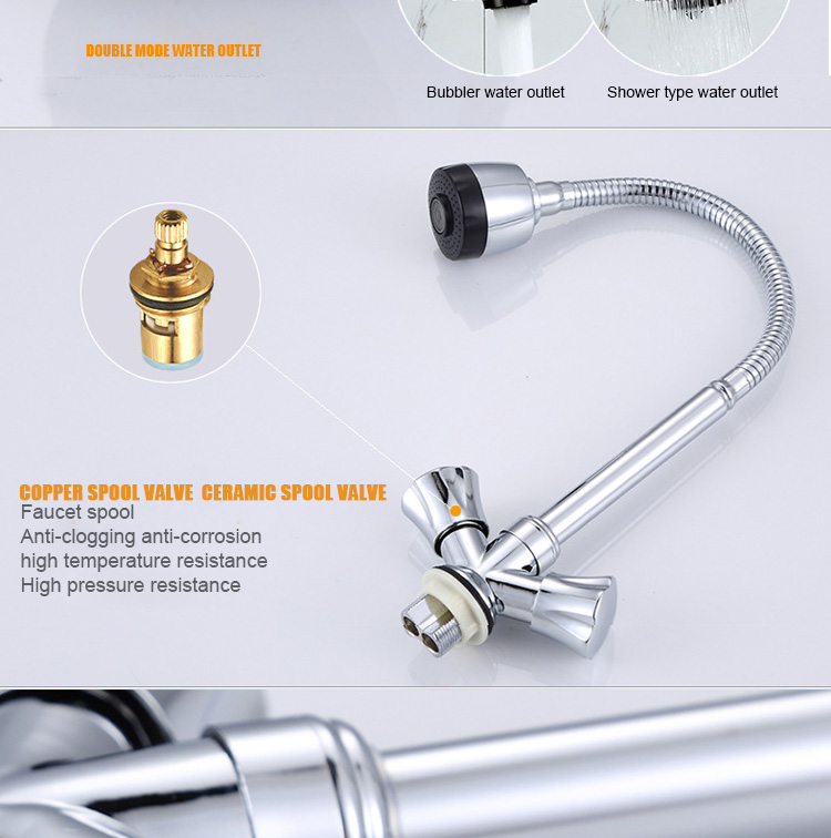 Special Design Hot And Cold Water Controlled Mixer Tap Kitchen Sink ...