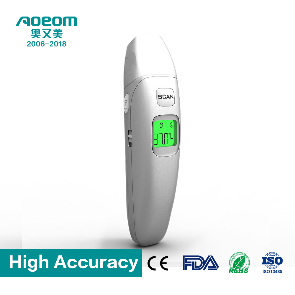 FDA /CE digital thermometer infared ir thermometer dual mode electronic high precision AT-FR408