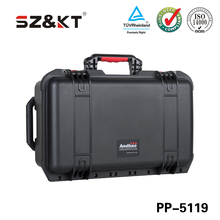 IP67 hard PP waterproof plastic carrying case military equipment transport case