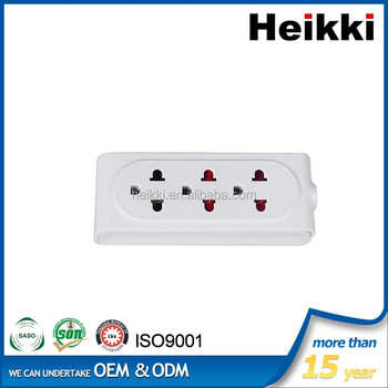 10A three pin extension socket