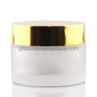 5g 10 g 15g 20g 30g 50 g skincare glass bottles cosmetic cream jar