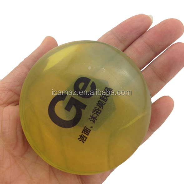 Round negative ions soap with transport vacuum plastic box, you can design package