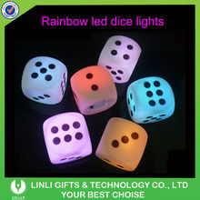5*5*5cm Flashing Color Change LED Dice