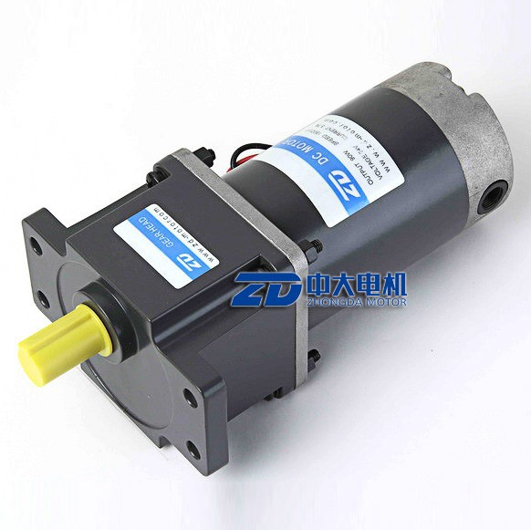 90mm 120w 12v,24v, 90v, dc gear motor