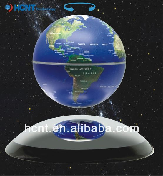Try new Technology ! Magnetic Floating Globe for Gift item ! guangzhou gift market