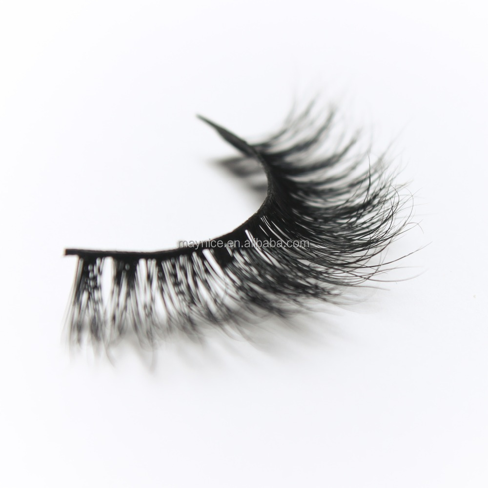 Natural Eyelash Extension With Glue Korea 3d Mink Eyelash Extensions