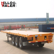 New Trucks and Tri-axle 40ft Flatbed Truck Trailer for Fleet