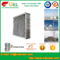 waste heat recovery coal fired boiler air preheater ORL Power ISO9001 certification manufacturer