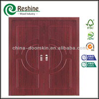 hdf melamine hotel entrance doors