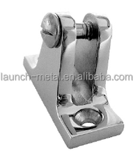 Marine Hardware Deck Hinge Angle Base AISI316 butt hinge gemel Coupling hinge Angle Base with spring pin