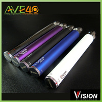 1300mah vision spinner E cigarette battery rainbow color in stock