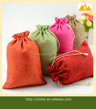 small jute wedding favour packaging bag