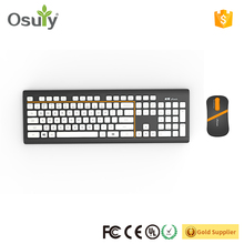 Colored Wireless USB Keyboard Mouse Combo