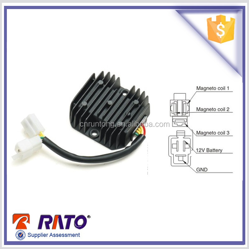 Hot sale 18 poles five wires motorcycle voltage regulator
