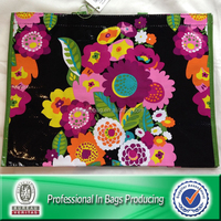 Lead Free PP Woven Laminated Flower Carry Bags
