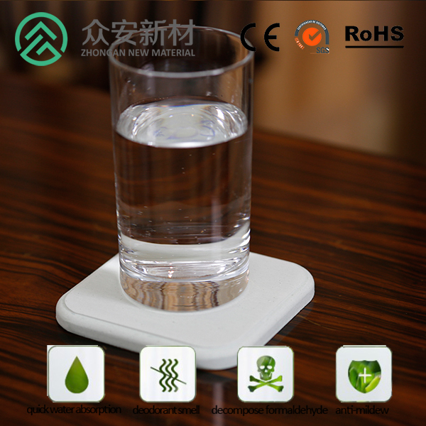 diatomaceous rounded drink coaster