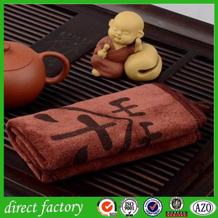 microfibre white and black kitcen/tea towel with high quality