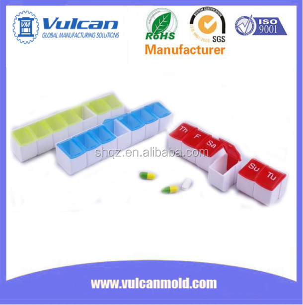 capsule mold making plastic mold